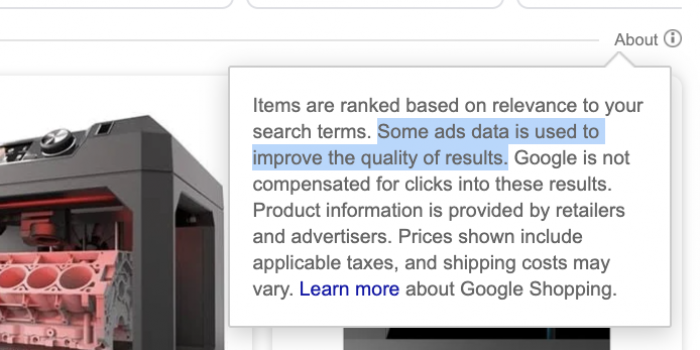 Google-Shopping-tab-ads-data-may-be-used-for-organic