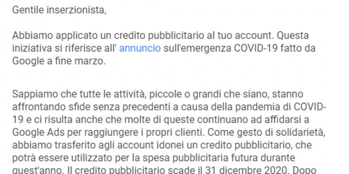 credito google ads